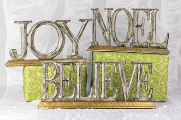 Joy, Noel, and Believe Tabletop
