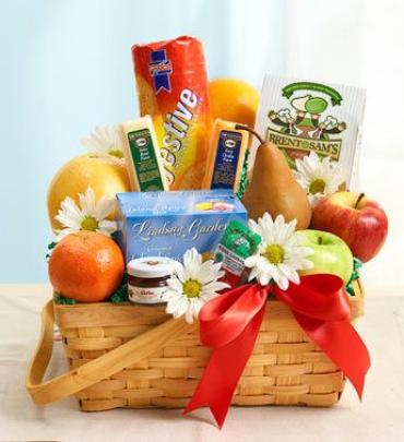 Fruit & Gourmet Basket 2012