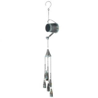 Patina Watering Can Wind Chime