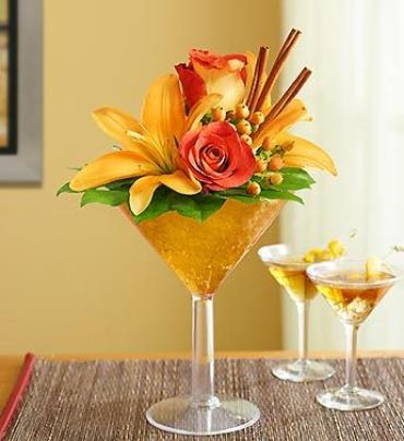 Martini Bouquet Pumpkin Spice Small