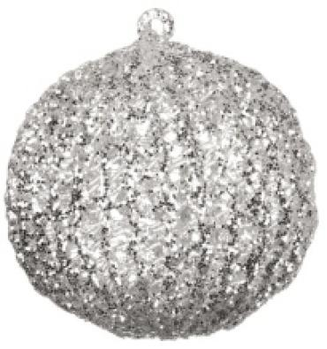 Glitter Ball Ornament 4\'  or5066