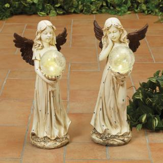 Resin Angel with Bronze Wings