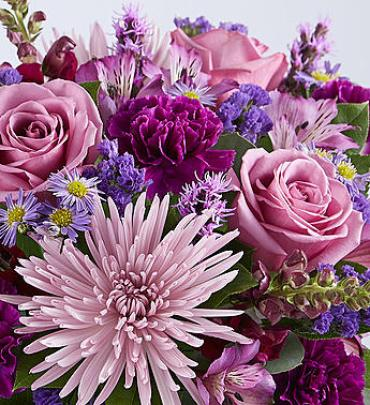 Florist\'s Choice of Purple Mixed Bouquet