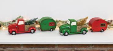 Xmas Truck with Camper