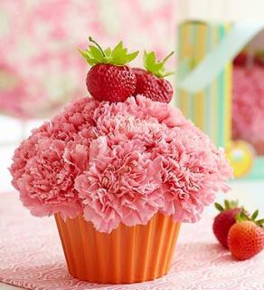 Cupcake in Bloom Strawberry
