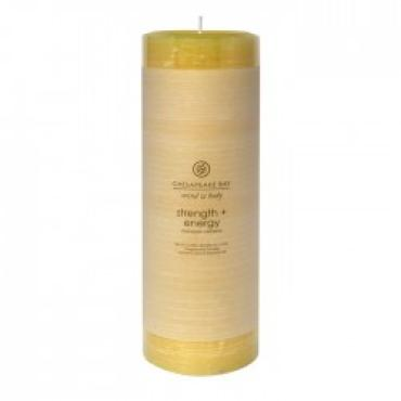 Strength + Energy Large Pillar Candle