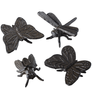 Cast Iron Garden Insects