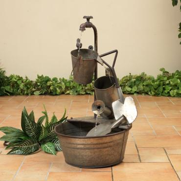 Electric Antique Garden Fountain
