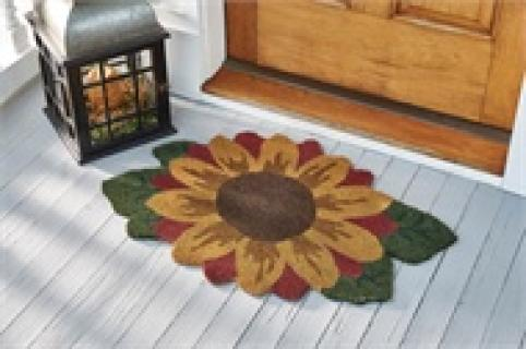 Sunflower Doormat
