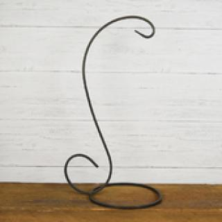 Small Wrought Iron Lantern Stand