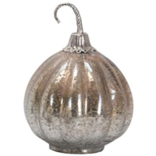 Foil Glass Lustre Mercury Pumpkin