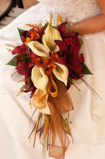 Fantastic Fall Bridal Bouquet