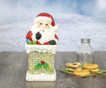 Xmas Magic Cookie Jar