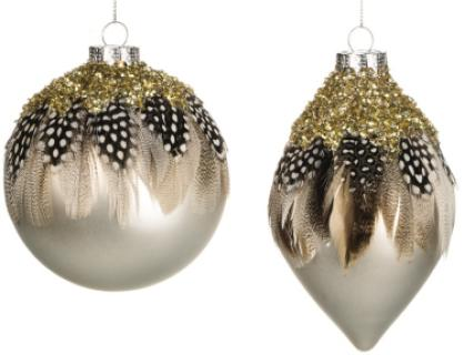 Feathered/Beaded Ornaments OR5168