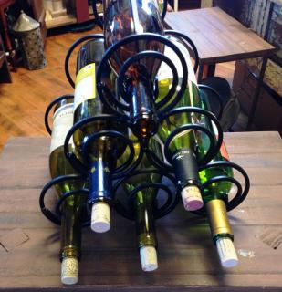 Six Bottle Wine Rack