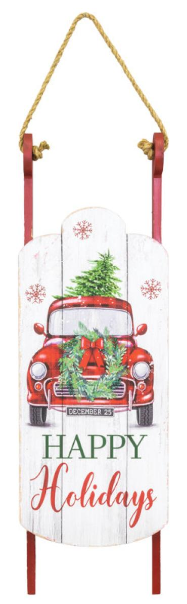 Holiday Truck Sled Hanger