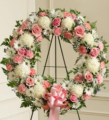 Serene Blessings Wreath