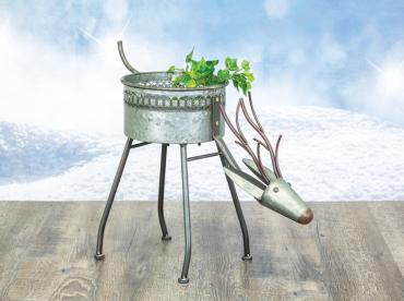 Reindeer Canister Table