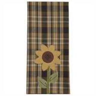 Sunflower In Bloom Decorative Dishtowel
