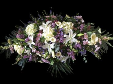 Celebration of Life in White and Lavender