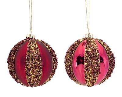 Sequined Ball Ornament