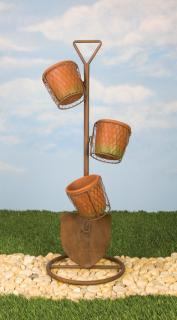 Shovel Three Tier Planter