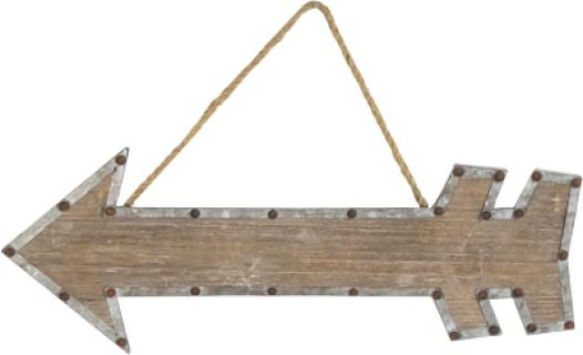 Decorative Arrow Hanger- Sm