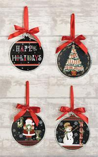 Assorted Holiday Ornaments