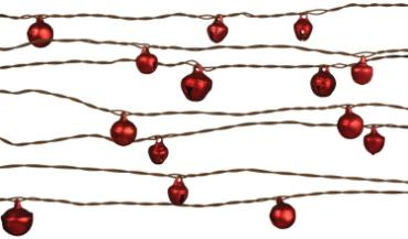 Bell Wire Garland red 24\'