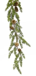 Pine with Cone Garland