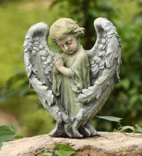 Peaceful Angel with Wings