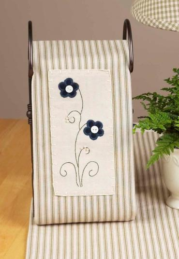 Forget me Not Towel 2