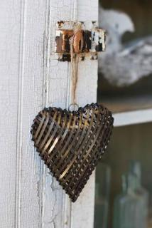 Large Metal Heart Ornament