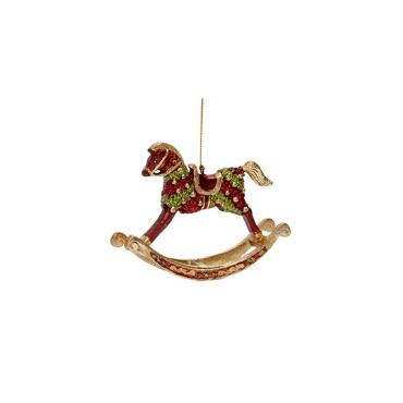 Panache Rocking Horse Ornament