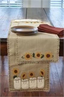 "Sunflower Blooms Table Runner - 54""L"