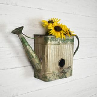 Wall Birdhouse Planter