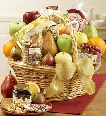 Bountiful Fruit & Gourmet Basket