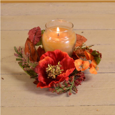Poppy Fields 2.5in Candle Ring