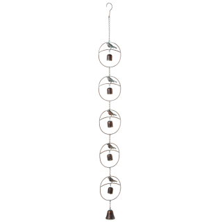 Circular Bird w/ Bell Wind Chime