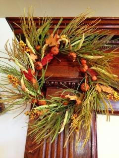 Autumn Wreath with Berries